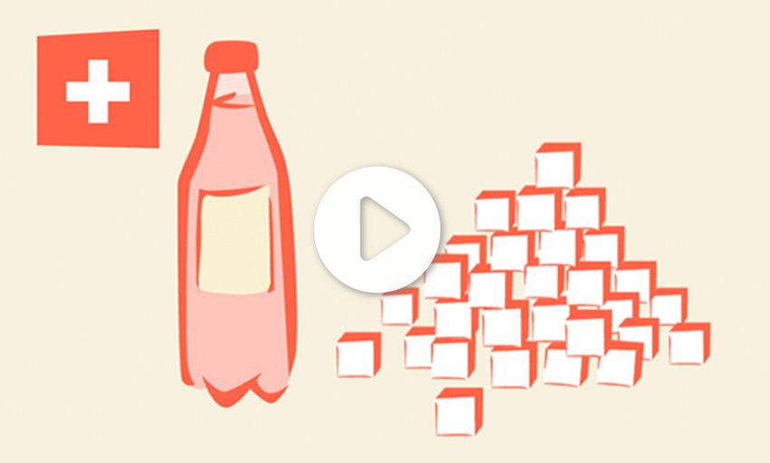 Des alternatives à teneur réduite en sucre – même sans impôt sur le sucre !